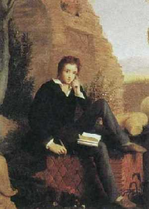 Percy Bysshe Shelley, retrato