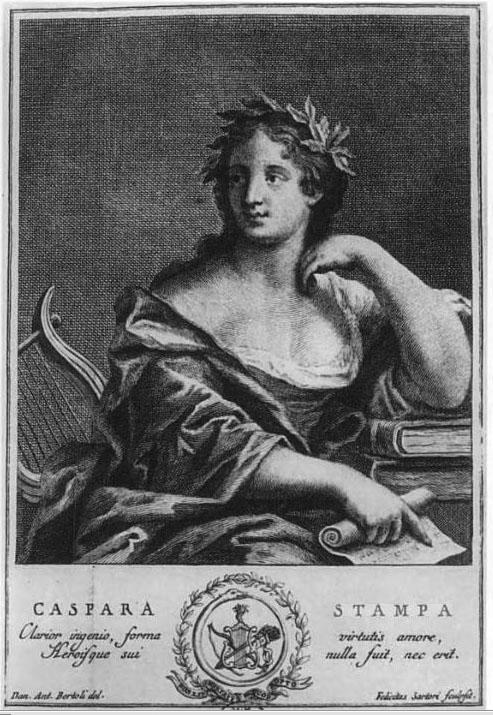 gaspara stampa, edição de 1738