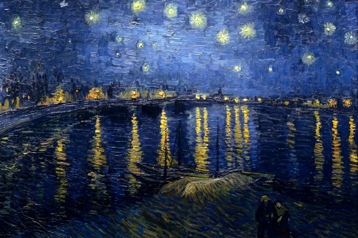 Van Gogh - Starry Night Over the Rhone