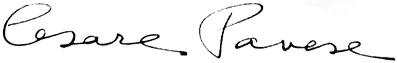 Cesare_Pavese_Signature
