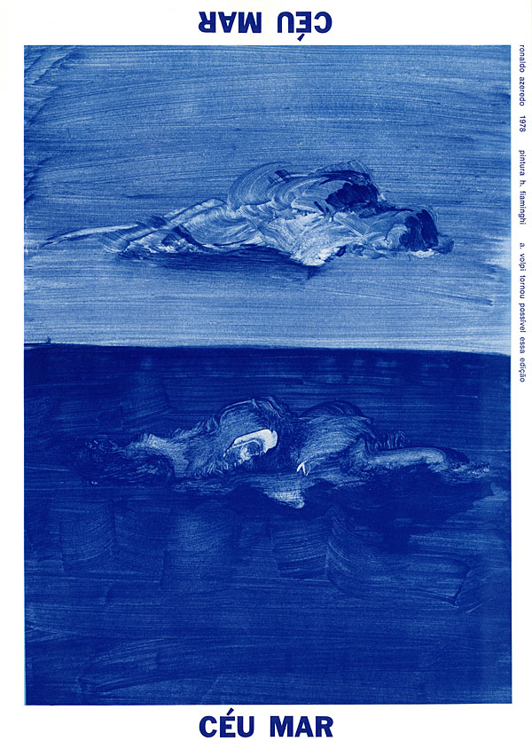 """""""céu mar"""", 1978, em parecira com hermelindo fiaminghi"""
