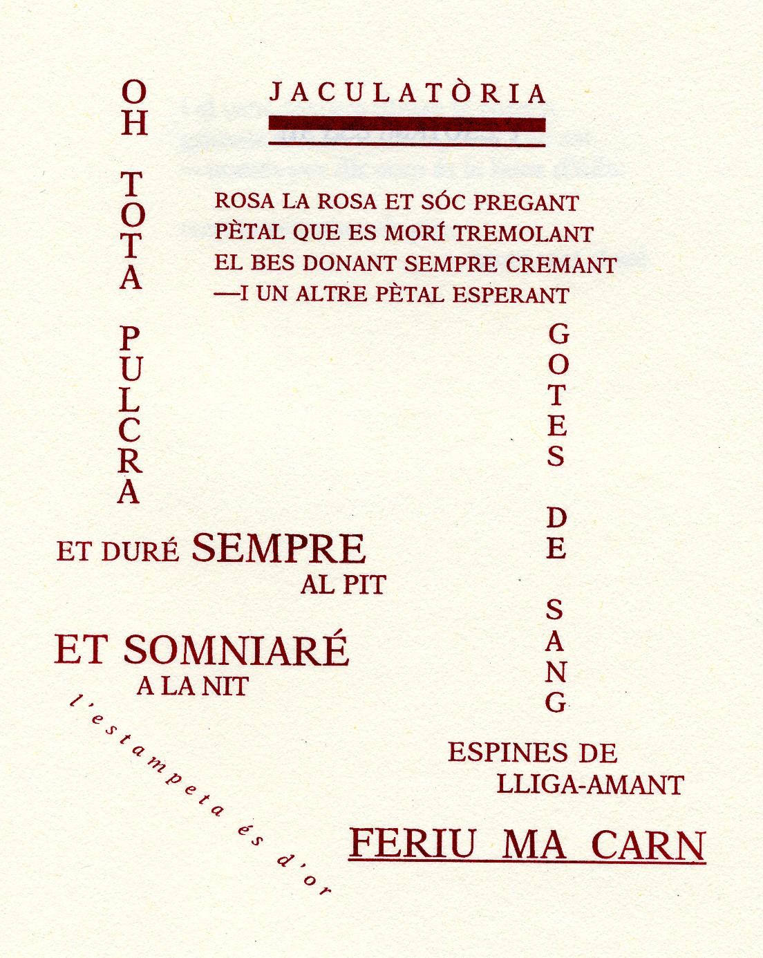 """""""res no és mesquí"""", de joan salvat-papasseit (1894-1924"""