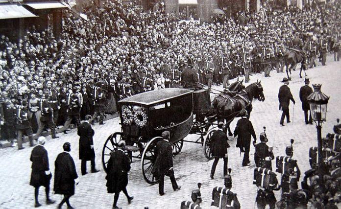 1 de junho de 1885, cortejo de victor hugo (fotógrafo anônima)