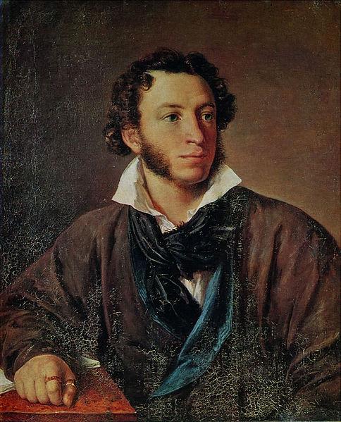 Aleksandr Pushkin por Vasily Tropinin