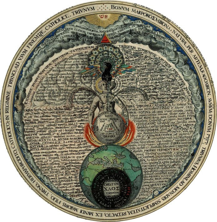Heinrich Khunrath - The Hermaphrodite (Amphitheatrum sapientiae aeternae, 1595)