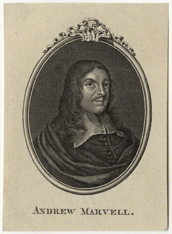NPG D29829; Andrew Marvell after Unknown artist