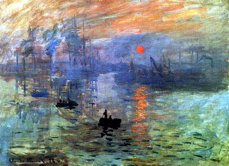 Claude Monet - Impressão, amanhecer (1872)