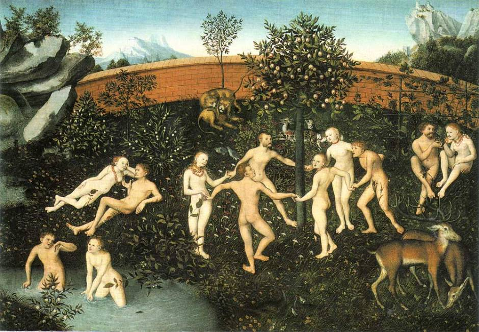 A idade de ouro, de Lucas Cranach, o Velho