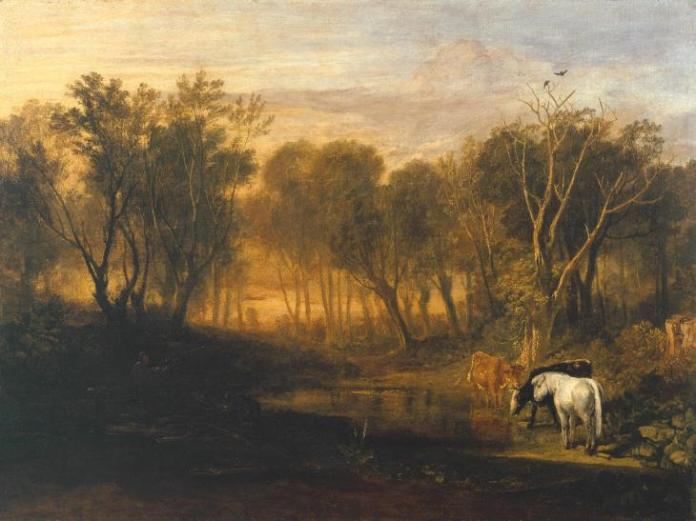 The Forest of Bere (1808), por J. M. W. Turner (1775 - 1851)