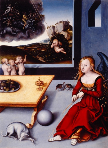 Lucas Cranach - Melancolia (1532)