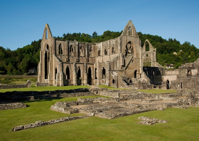 A abadia de Tintern, tema de outro poema famoso de Wordsworth