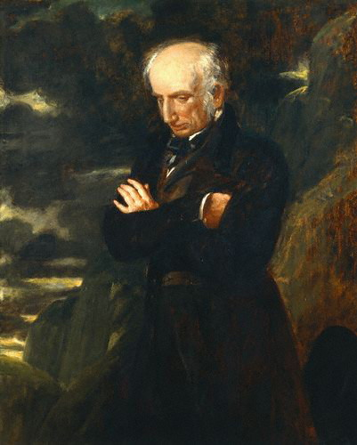 Retrato de Wordsworth por Benjamin Robert Haydon (1842)