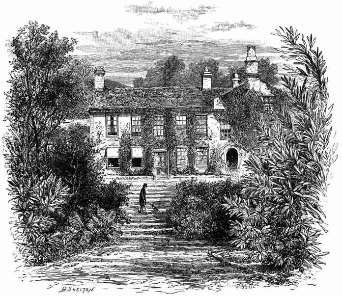 casa de Wordsworth em Rydal Mount