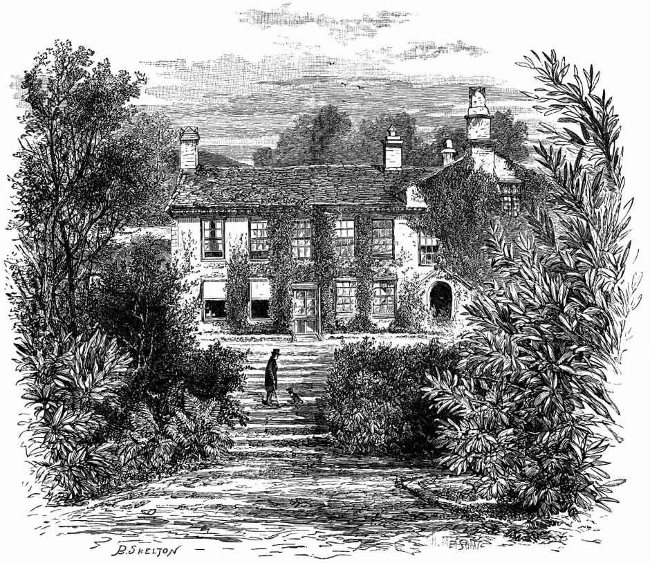 casa de Wordsworth em Rydal Mount