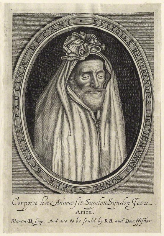 John Donne, por  Martin Droeshout, 1633