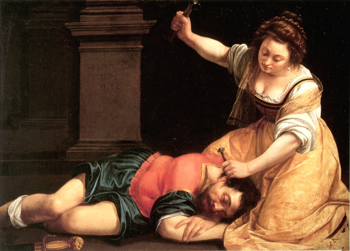 Artemisia Gentileschi (1593 – c. 1656) - Jael e Síssera