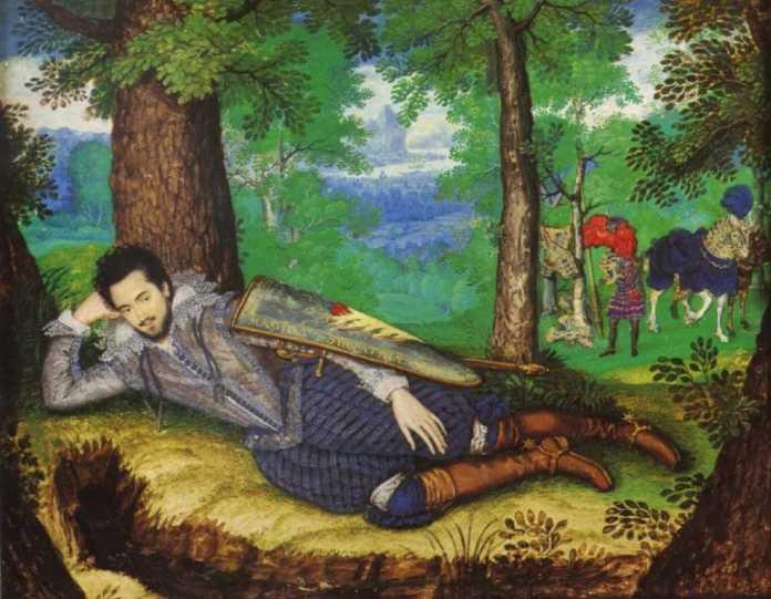 Edward Herbert, por Isaac Oliver (1565 - 1617)