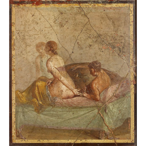 Fresco-showing-two-lovers-on-a-bed-attended-by-a-slave-brimus456_productlarge
