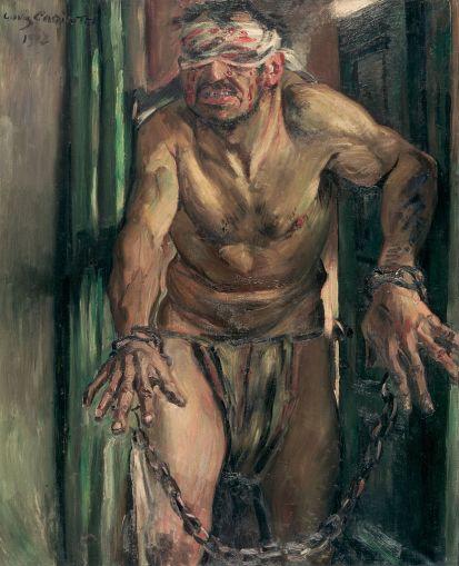 Louis Corinth - Der geblendete Simson