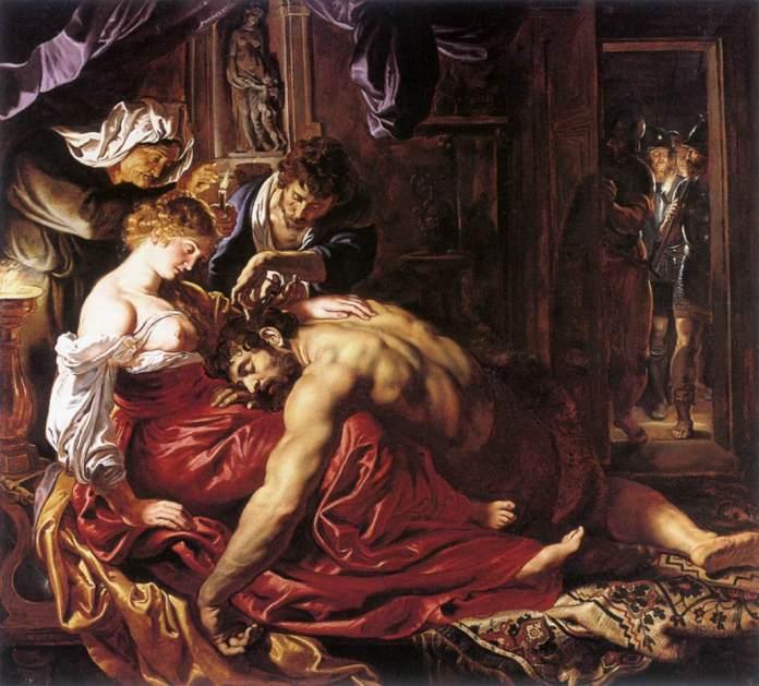 P. Rubens - Sansão e Dalila (1610)