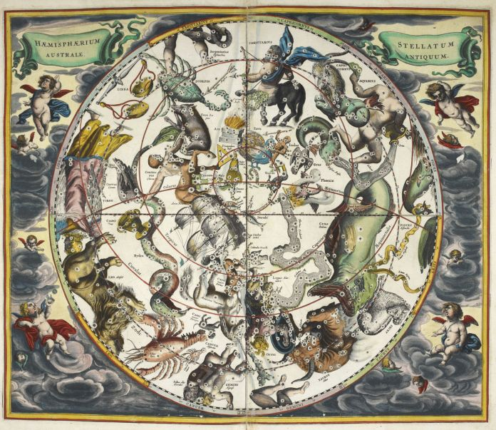 Andreas Cellarius - Atlas Coelestis (1660)