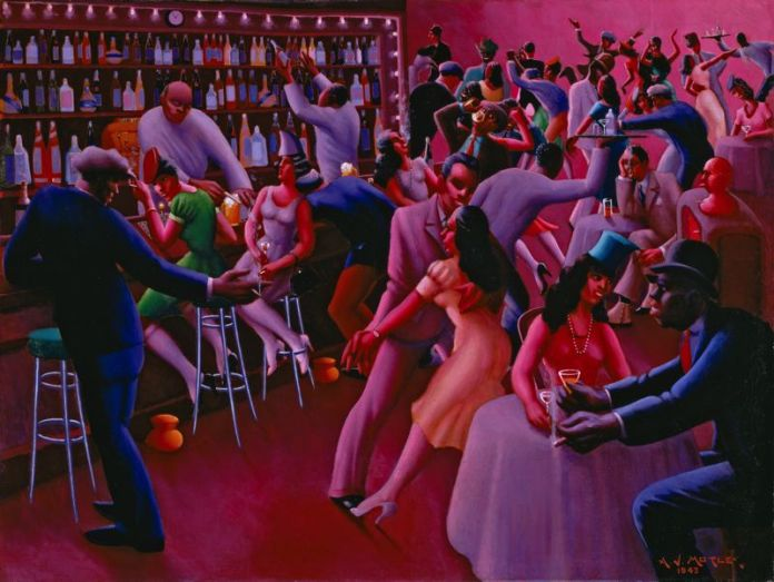"""Nightlife"", por Archibald John Motley Jr."