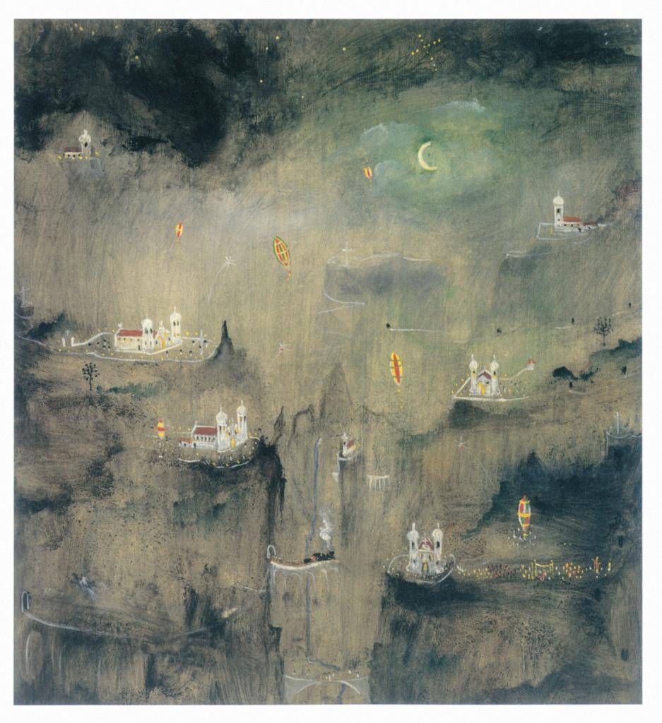 Noite de São João, de Alberto da Veiga Guignard