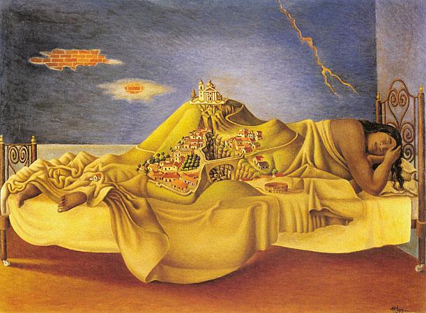 antonio ruiz, the dream of malinche