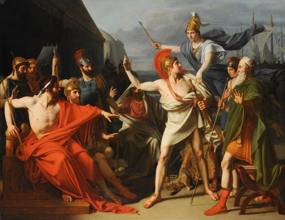 Michel-Martin Drolling, The Wrath of Achilles, 1810
