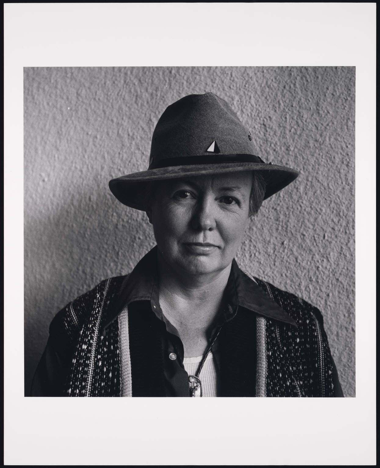 Judy Grahn January 1988 Oakland CA by Robert Giard
