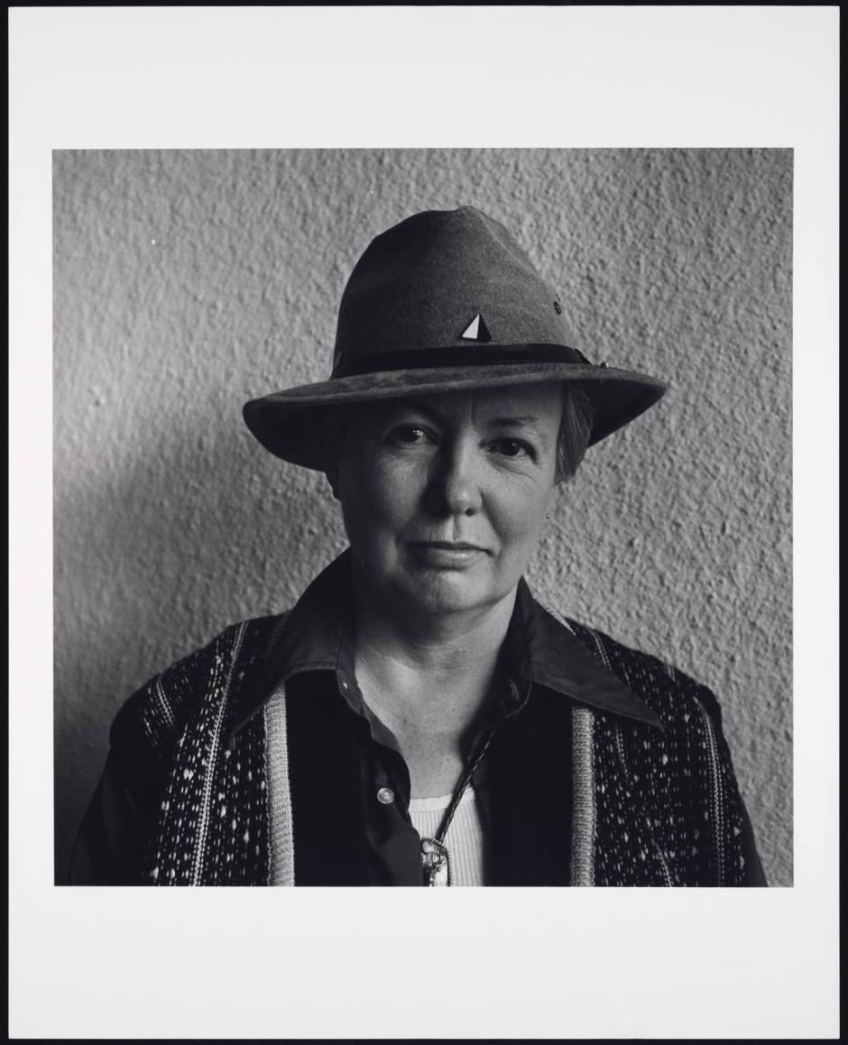 Judy Grahn January 1988 Oakland CA by Robert Giard